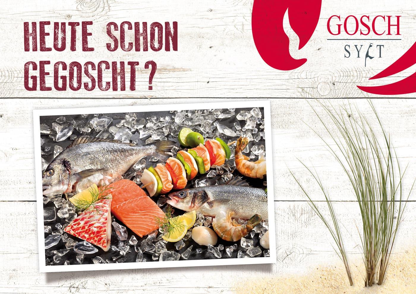 """CD-Entwicklung und Markenführung für """"GOSCH Sylt"""""""