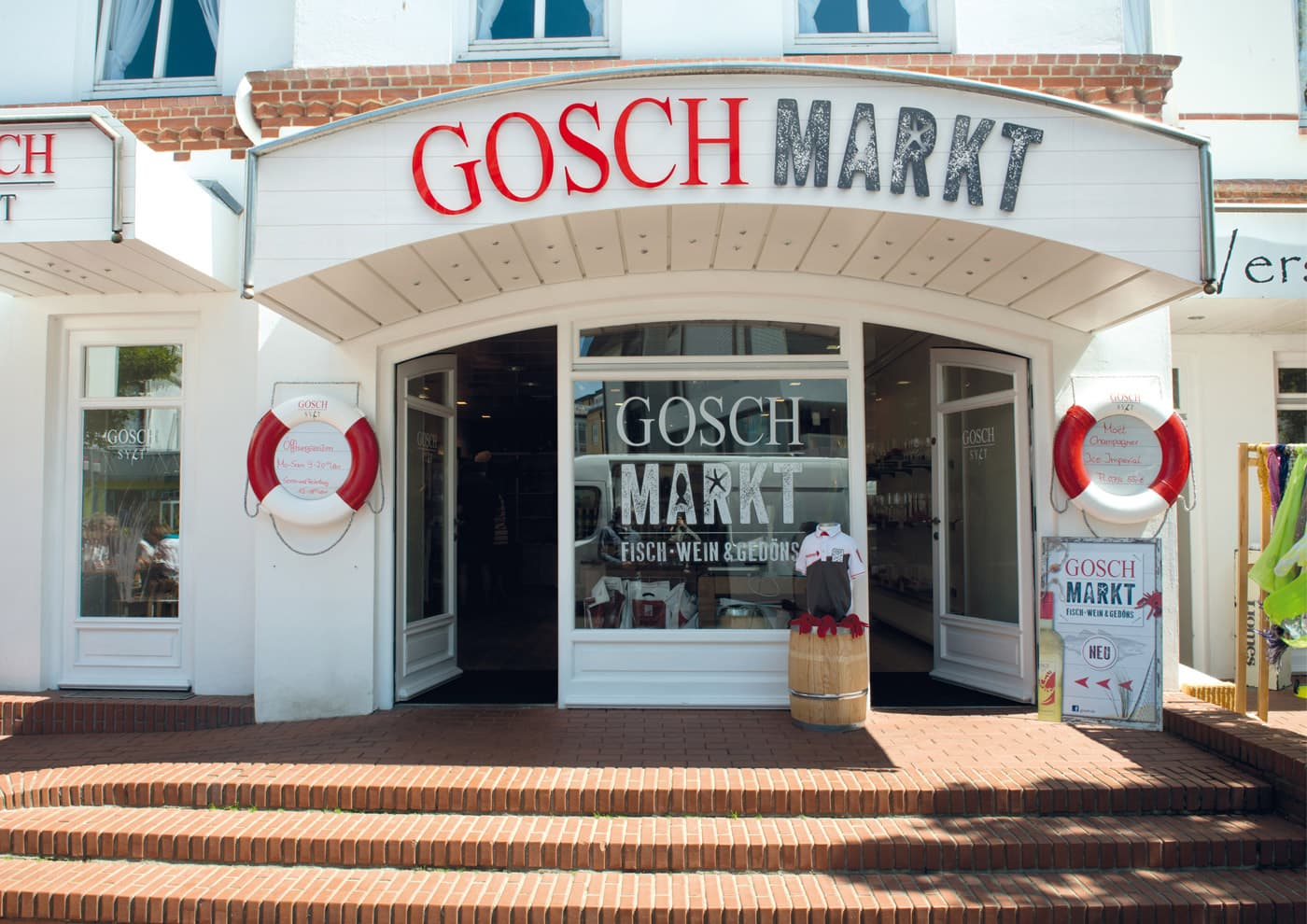 """CD-Entwicklung und Markenführung für """"GOSCH Sylt"""": Branding Merchandise-Store in Westerland"""