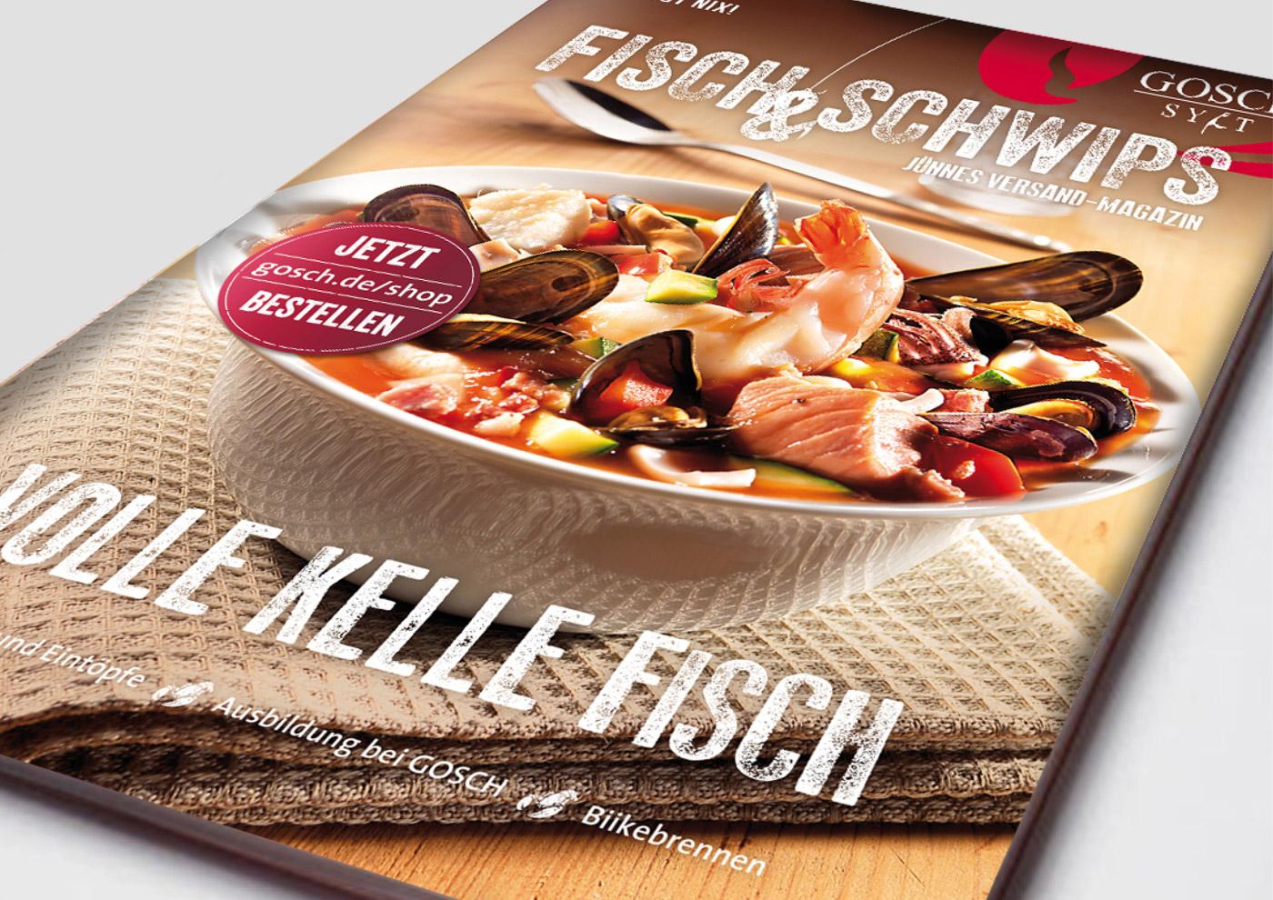 """CD-Entwicklung und Markenführung für """"GOSCH Sylt"""": Konzept und Design von"""