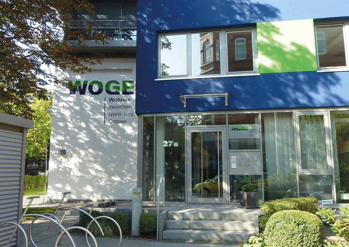 Corporate Design und Kommunikation für die WOGE Kiel: Neues Logo