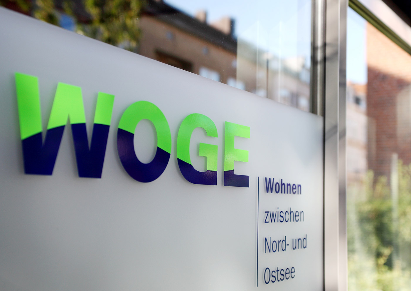 Corporate Design und Kommunikation für die WOGE Kiel