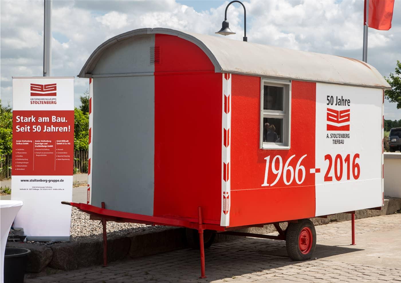 Event-, Print- und Online-Konzeption für die Unternehmensgruppe Stoltenberg: Fahrzeug-Gestaltung