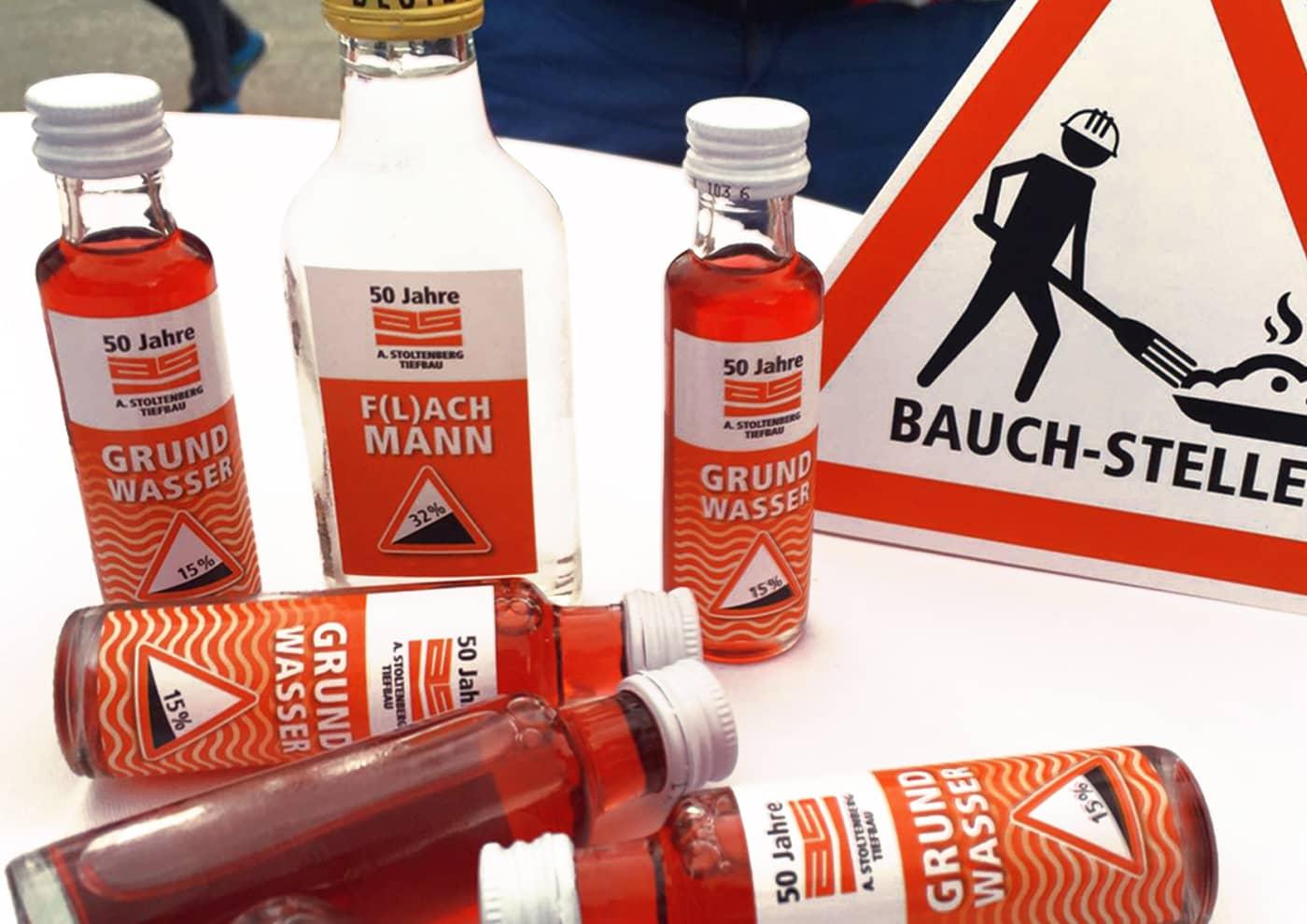 Event-, Print- und Online-Konzeption für die Unternehmensgruppe Stoltenberg: Werbemittel