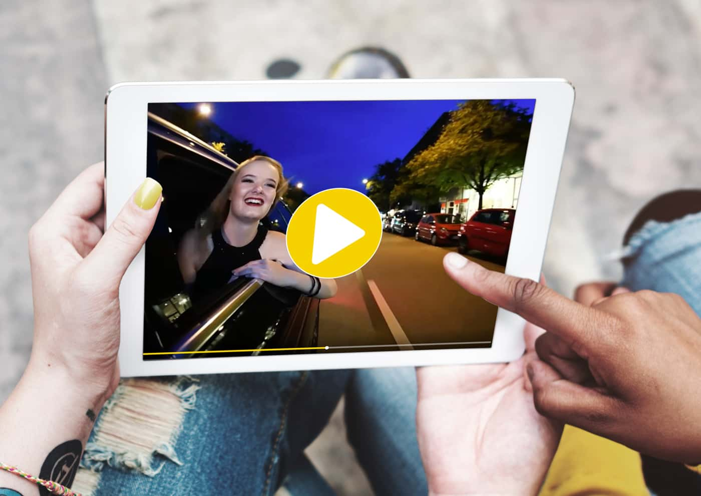 Web-Relaunch und Corporate Design für Taxi Kiel: Video
