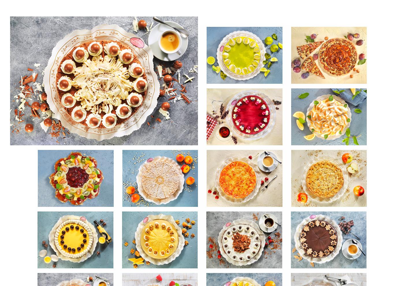 CD-Relaunch, Web und Social Media für Café Fiedler - Fotografie